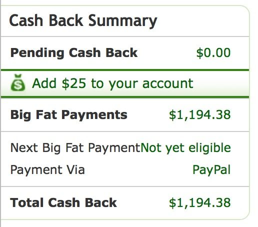 How I've earned $1,100+ with Ebates