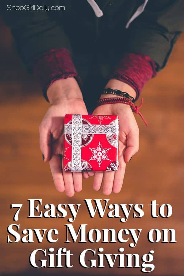 Easy Ways to Save Money on Gift Giving