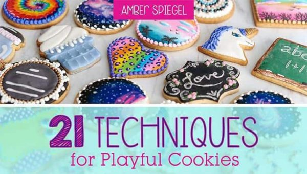 21 Techniques for Playful Cookies from SweetAmbs