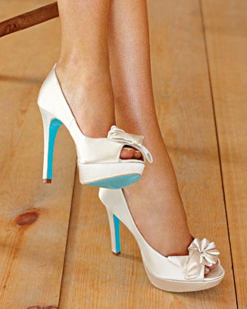 Pour La Victoire Stella Blue Soled Shoes