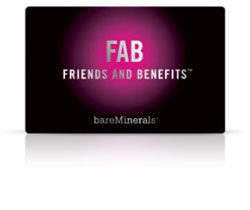 bareMinerals Launches FAB - a FREE 'n Fabulous Rewards Program - Shop Girl Daily
