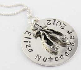 Personalized Ballerina Necklace - Gifts for Kids - #ffgiftguide
