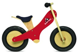 Kinderfeets Push Bike - Gifts for Babies - FantabulouslyFrugal.com 2012 Holiday Gift Guide #ffgiftguide