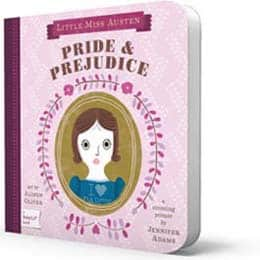 Pride and Prejudice Baby Book - Gifts for Babies - FantabulouslyFrugal.com 2012 Holiday Gift Guide - #ffgiftguide