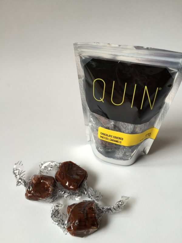 Quin Chocolate Covered Pretzel Caramels