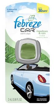 Febreeze Car Vent Clips - Stocking Stuffers for Men - FantabulouslyFrugal.com 2012 Holiday Gift Guide - #giftguide #stockingstuffers