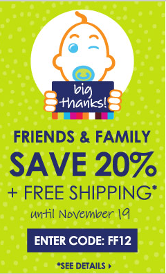 Giggle Friends and Family Sale