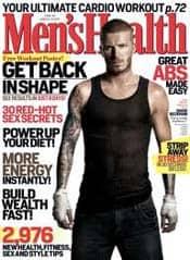 Mens Health Magazine - Stocking Stuffers for Men - FantabulouslyFrugal.com 2012 Holiday Gift Guide - #giftguide #stockingstuffers