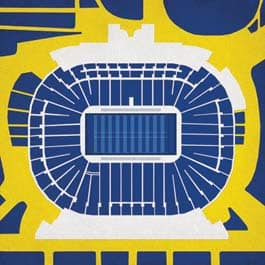 Michigan Stadium Print