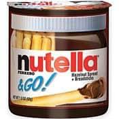 Stocking Stuffers for Men: Nutella Grab & Go Snacks