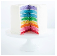 Rainbow Cake Food Coloring Set from Bake It Pretty