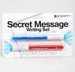 Secret Message Writing Set - Gifts for Teen Girls