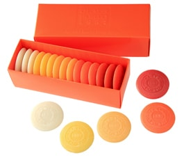 Claus Porto Orange Guest Soap Pastille Gift Box from Gracious Style