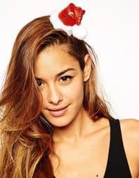 Santa Hair Clip