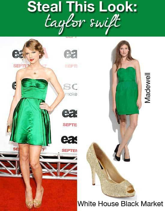 Taylor Swift Emerald Dress