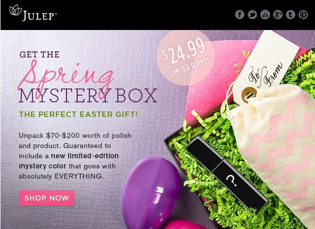 Julep Spring Mystery Box