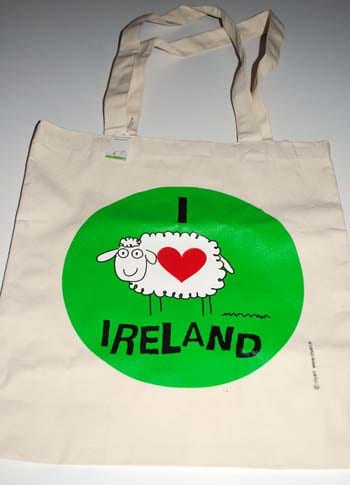 I Heart Ireland Tote from Olyart received in the April My Ireland Box