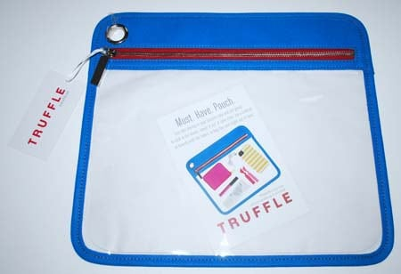 Truffle Classic Clarity Pouch