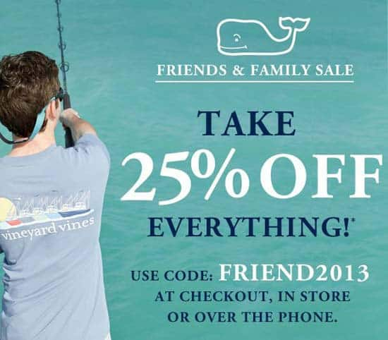 Vineyard vines coupon codes