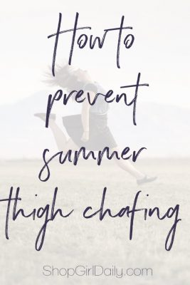 How To Prevent Summer Thigh Chafing