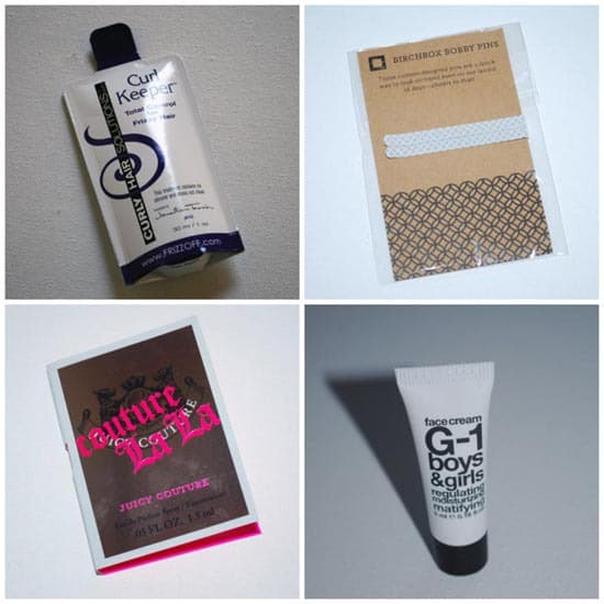 items from July Birchbox