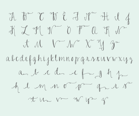 Fake Calligraphy For Less With The Joelle Charming Font