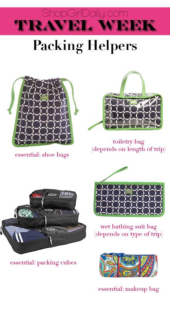 Travel Week: Packing Helpers