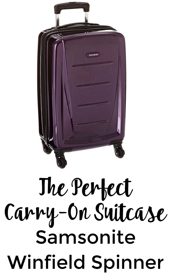 The Perfect Carry-On Suitcase: Samsonite Winfield Spinner