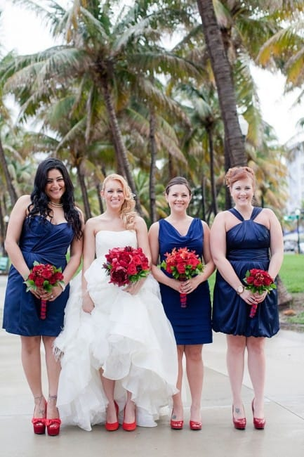 Red White And Blue Wedding Ideas Shop Girl Daily