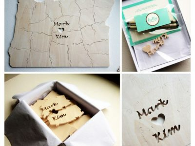 10 Creative Wedding Guest Book Ideas: Wedding Guest Book Puzzle