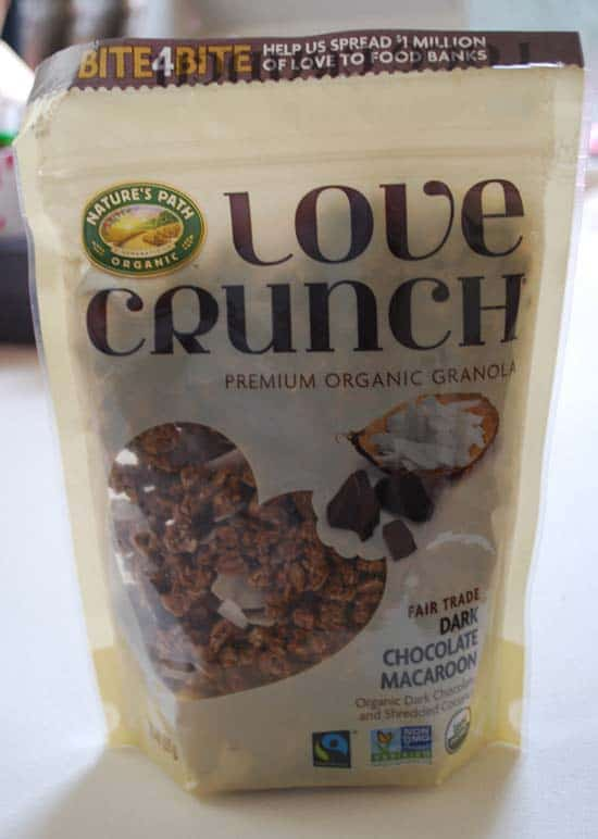 Nature's Path Love Crunch - Dark Chocolate Macaroon Granola