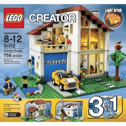 2013 Holiday Gift Guide: Lego Creator Family House