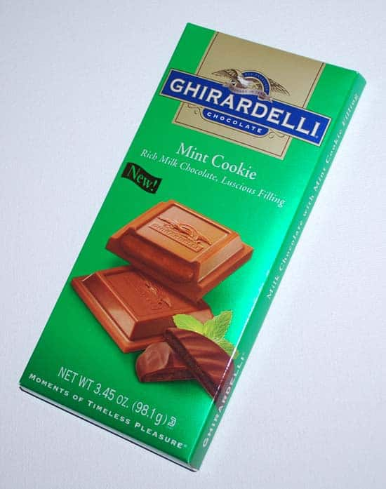 Ghirardelli Mint Cookie