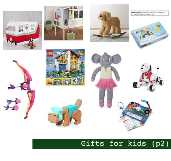 2013 Holiday Gift Guide: Gifts for Kids (p2)
