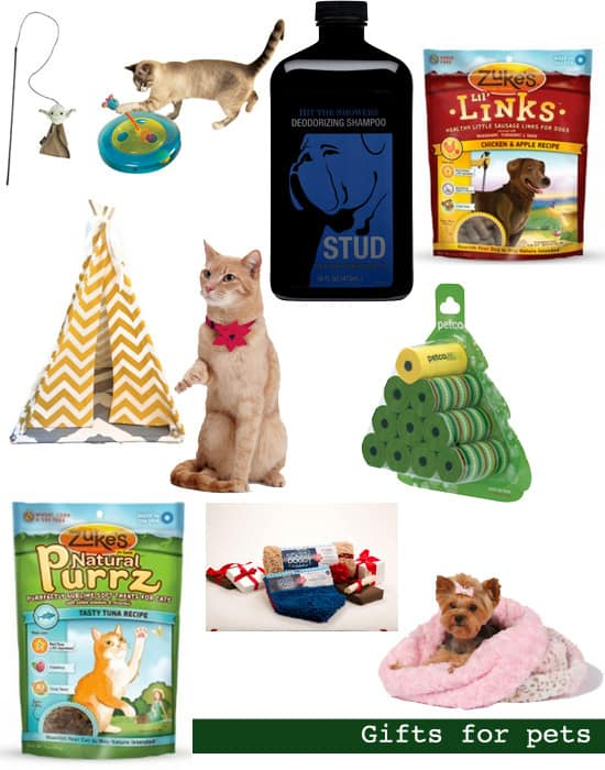 Holiday gift guide gifts for pets shop girl daily
