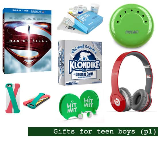 2013 Holiday Gift Guide: Gifts for Teen Boys