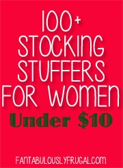 Stocking Stuffers for Women Under $10