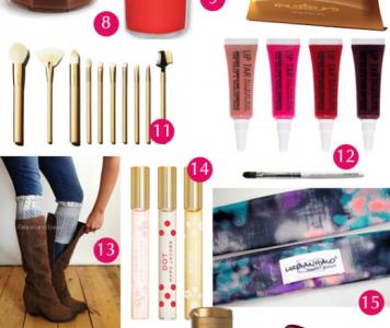 Stocking Stuffers For Women | ShopGirlDaily.com