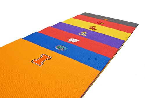 2013 Holiday Gift Guide: NCAA Yoga Mats