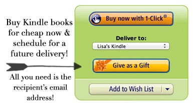 How to buy Kindle Books as Gifts