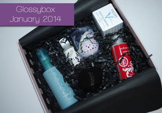 Glossybox January 2014