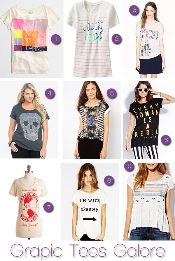 Graphic Tees Galore