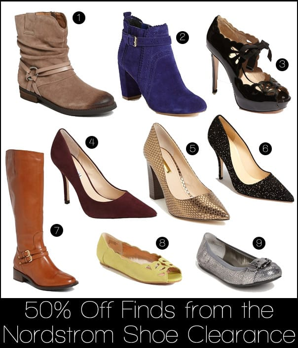 Nordstrom Shoe Clearance: 50% Off Finds