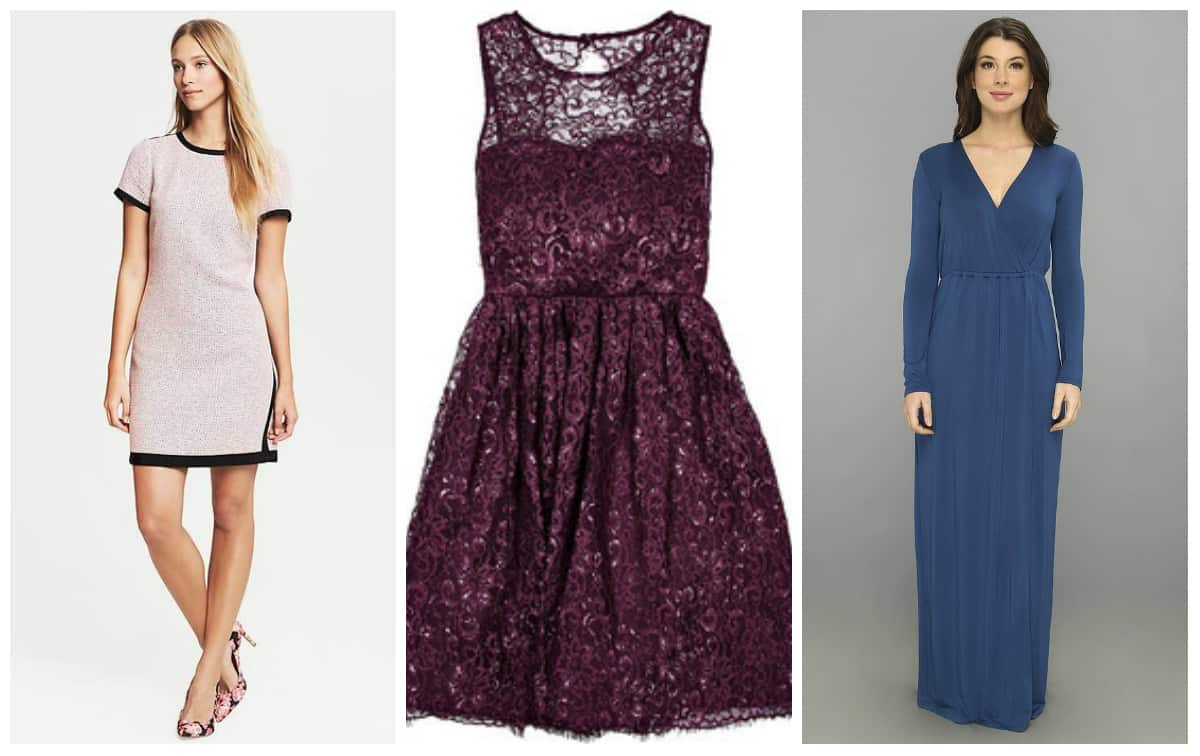 Wedding Wednesday: Winter Wedding Guest Dresses for Less - Shop Girl ...