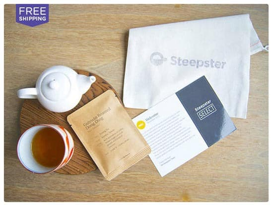 Steepster Tea Delivery