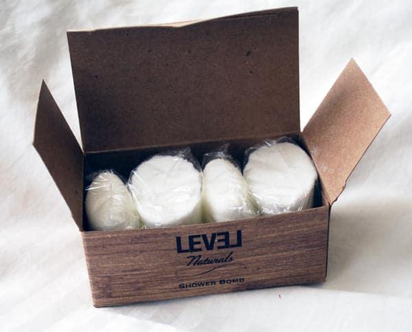 Level Naturals Shower Bomb