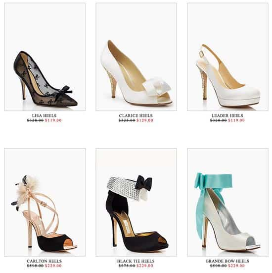 Save up to 65 at the kate spade wedding surprise sale shop nyc daily kate spade wedding shoes junglespirit Images