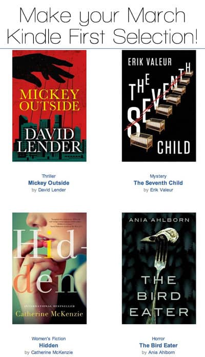 Calendar Girl May Kindle : Amazon prime members make your march kindle first