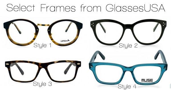 Trendy Glasses from GlassesUSA