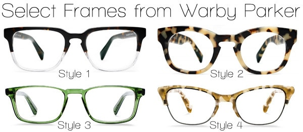 Trendy Glasses from Warby Parker